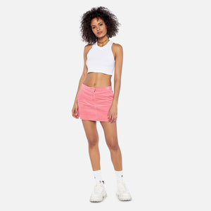 Ashley Williams Cotton Corduroy Executive Skirt - Pink