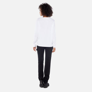 Ashley Williams L/S Retired Tee - White