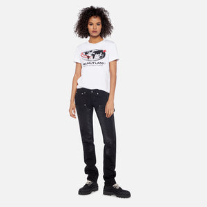 Helmut Lang World Turns Tee - Chalk White