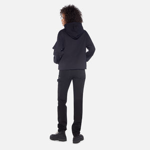 Helmut Lang Basalt World Turns Hoodie - Black