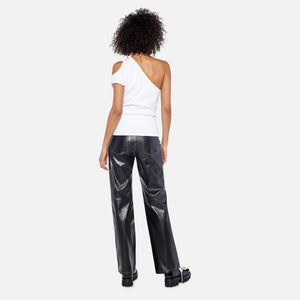 Helmut Lang Leather Trouser - Black