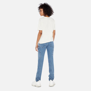 Telfar Simple Tour Tee - White