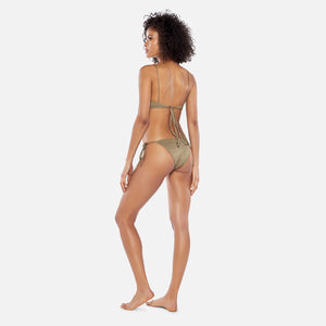 ACK Swim Oro Filo Top - Brown