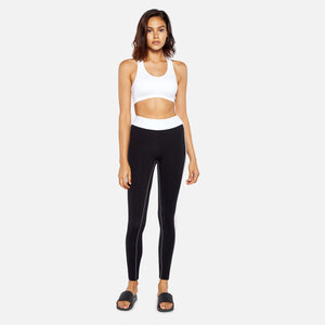 No Ka'oi Defy Leggings - Black / White 30