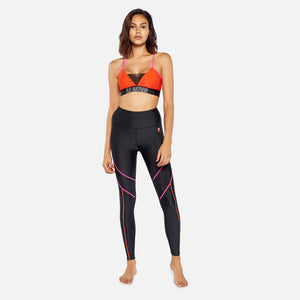 P.E Nation Centre Mark Legging - Black