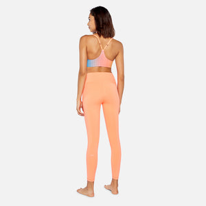 Splits59 Kinney High Waist 7/8 Tight - Neon Coral