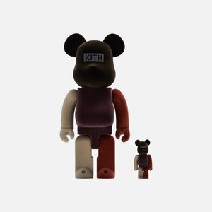 Kith x Bearbrick 100% & 400% - Brown / Multi Image 1