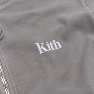 Kith Williams Crystal Wash Hoodie - Pavement