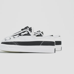 Converse x Undercover Jack Purcell Ox Takahiro The Soloist - White / Black