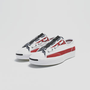 Converse x Undercover Jack Purcell Ox Takahiro The Soloist - Red / White / Blue
