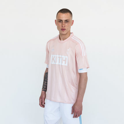 Kith x adidas Soccer Game Jersey - Flamingos Home