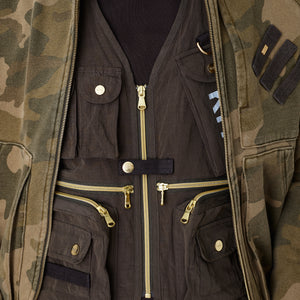 Kith Tactical Vest - Black Olive Image 3