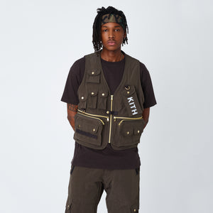 Kith Tactical Vest - Black Olive Image 2