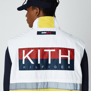 Kith x Tommy Hilfiger Sailing Utility Vest - White / Yellow