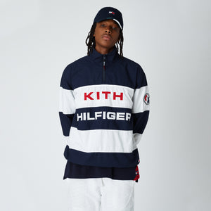 Kith x Tommy Hilfiger Stripe Woven Popover - Navy / White