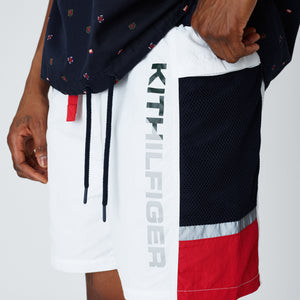 Kith x Tommy Hilfiger Solid Swim Trunk - White