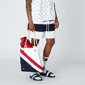 Kith x Tommy Hilfiger Woven Stripe Short - Navy / White