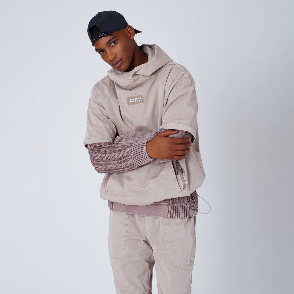 Kith Convertible Double Pocket Hoodie - Cinder-look