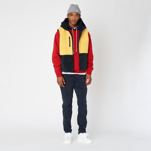 Kith Williams III Contrast Hoodie - Chili Pepper Image 5