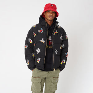 Kith x Disney Killington Down Puffer Jacket - Black