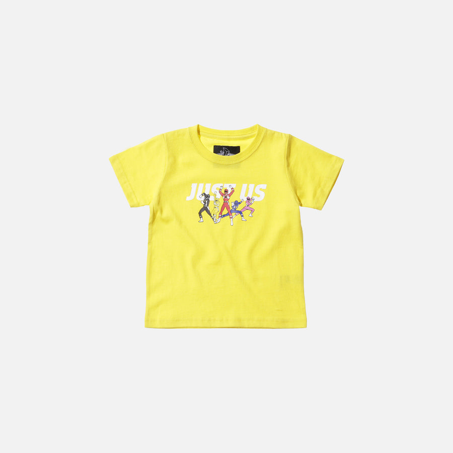 Kidset x Power Rangers Just Us Tee - Yellow