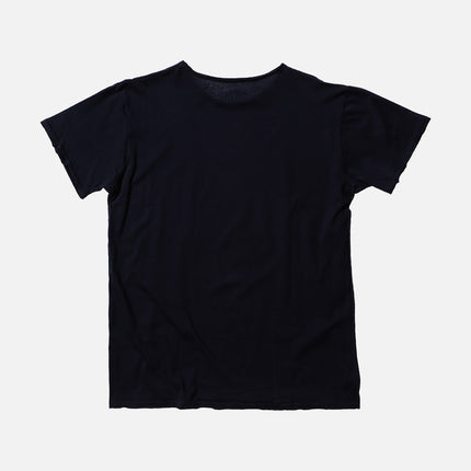 Kith Snake Frayed Tee - Navy / White