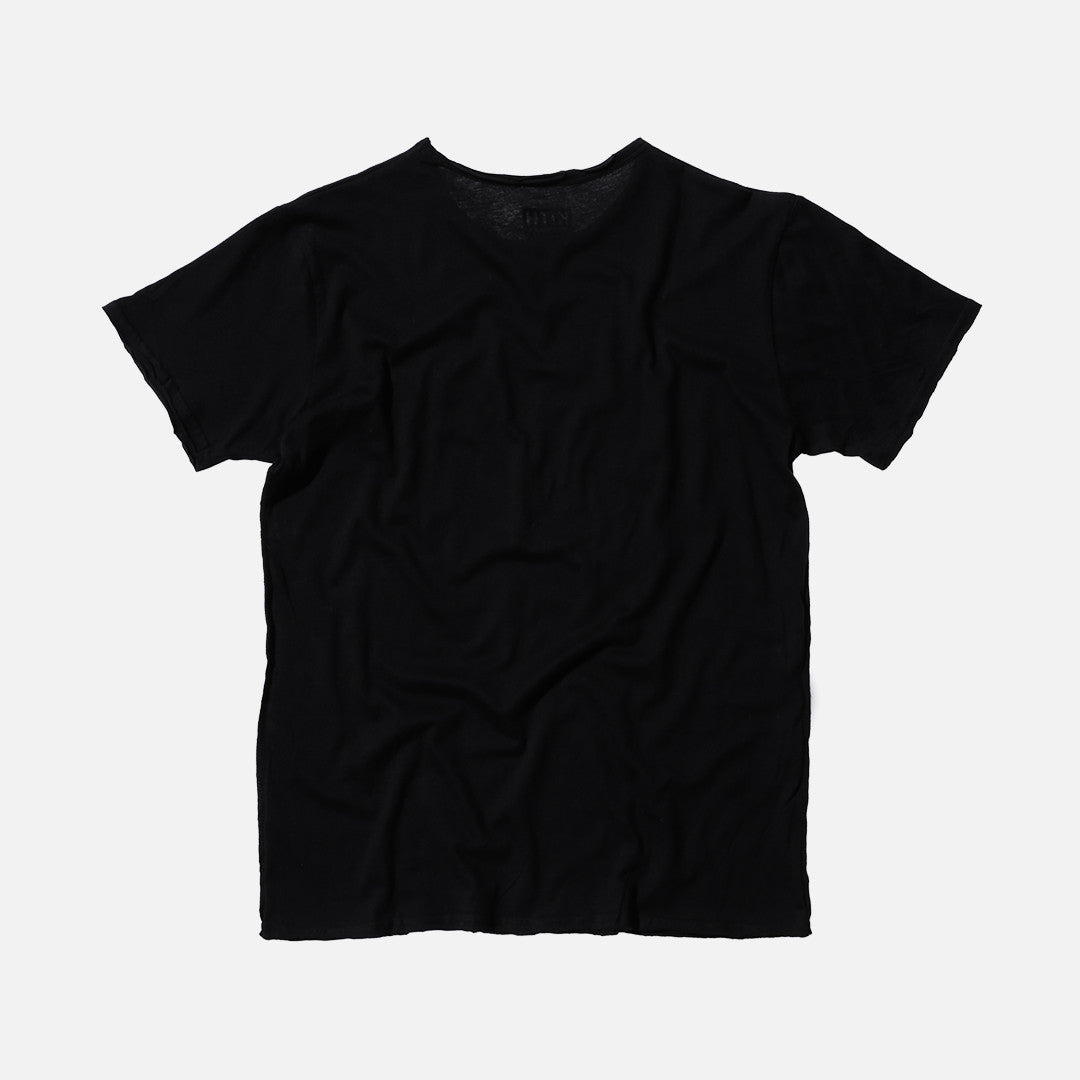 Kith Snake Frayed Tee - Black / White