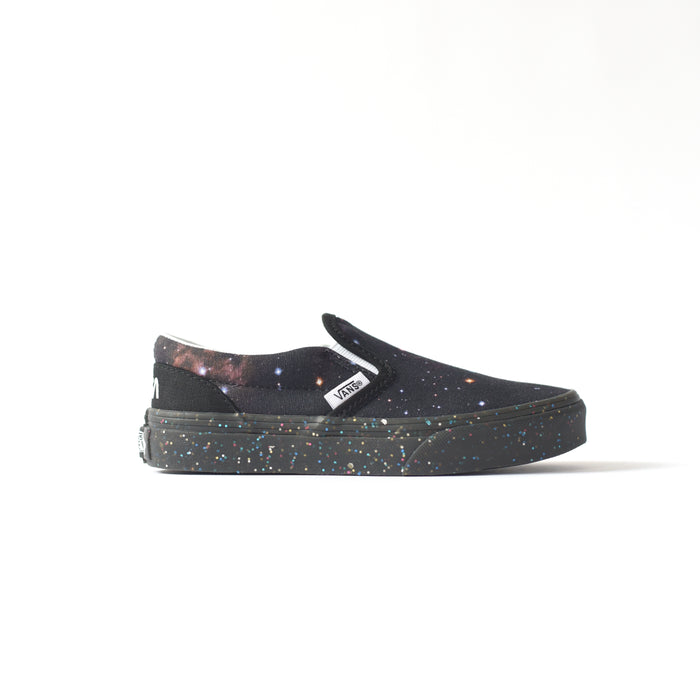 Vans x NASA Kids Classic Slip-On Space Voyager - Galaxy / Black