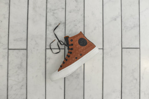 Converse Chuck II Hi QS Car Leather - Mocha