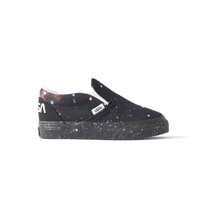 Vans x NASA Toddler Classic Slip-On - Space Voyager Galaxy / Black