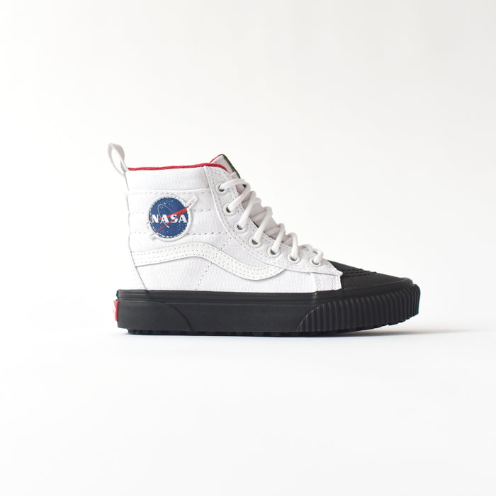 Vans x NASA Kids Sk8-Hi MTE Space Voyager - True White / Black