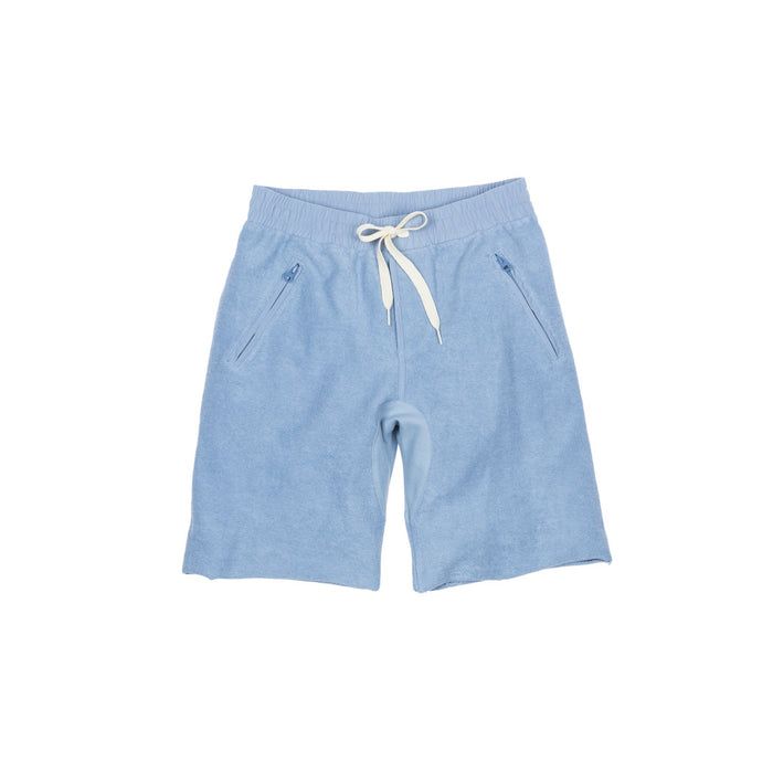 KITH Reverse Frayed Bleecker Short - Carolina Blue