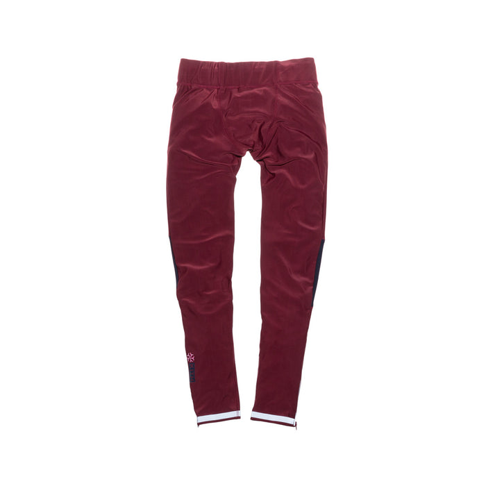 KITH Jennings Compression Pant - Burgundy / Navy
