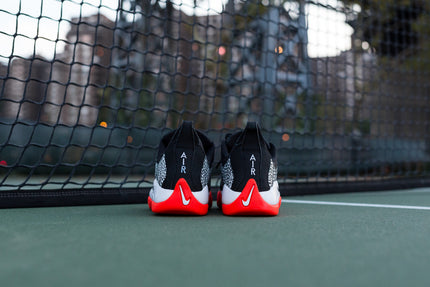 Nike Air Oscillate QS - Black / Bright Crimson