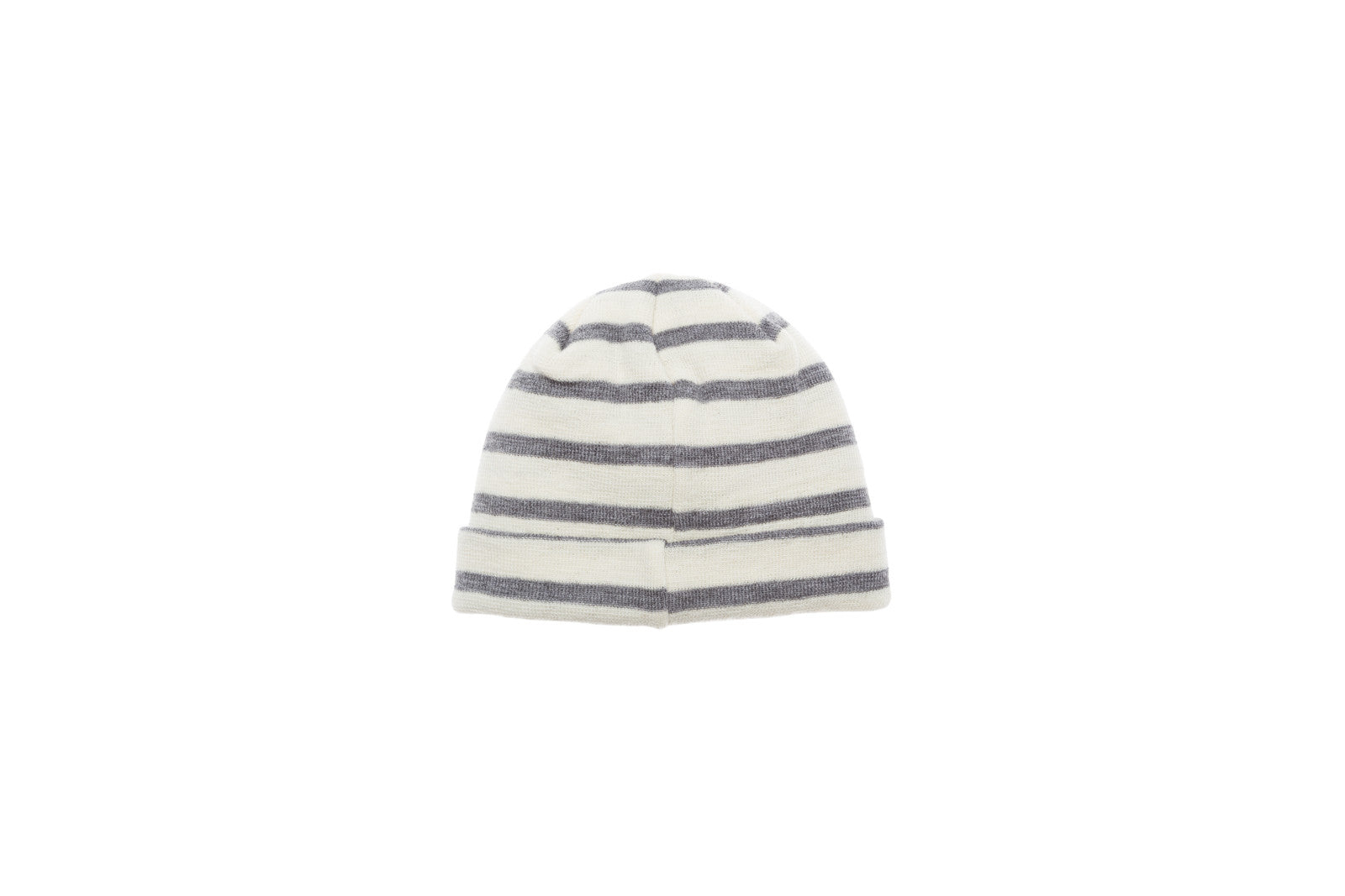 Norse Projects Classic Normandy Stripe Beanie - Grey