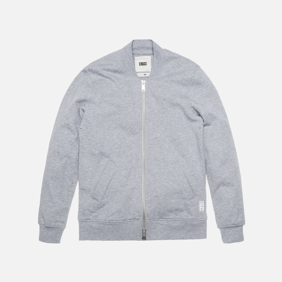KITH Classics Herkimer Bomber - Athletic Grey