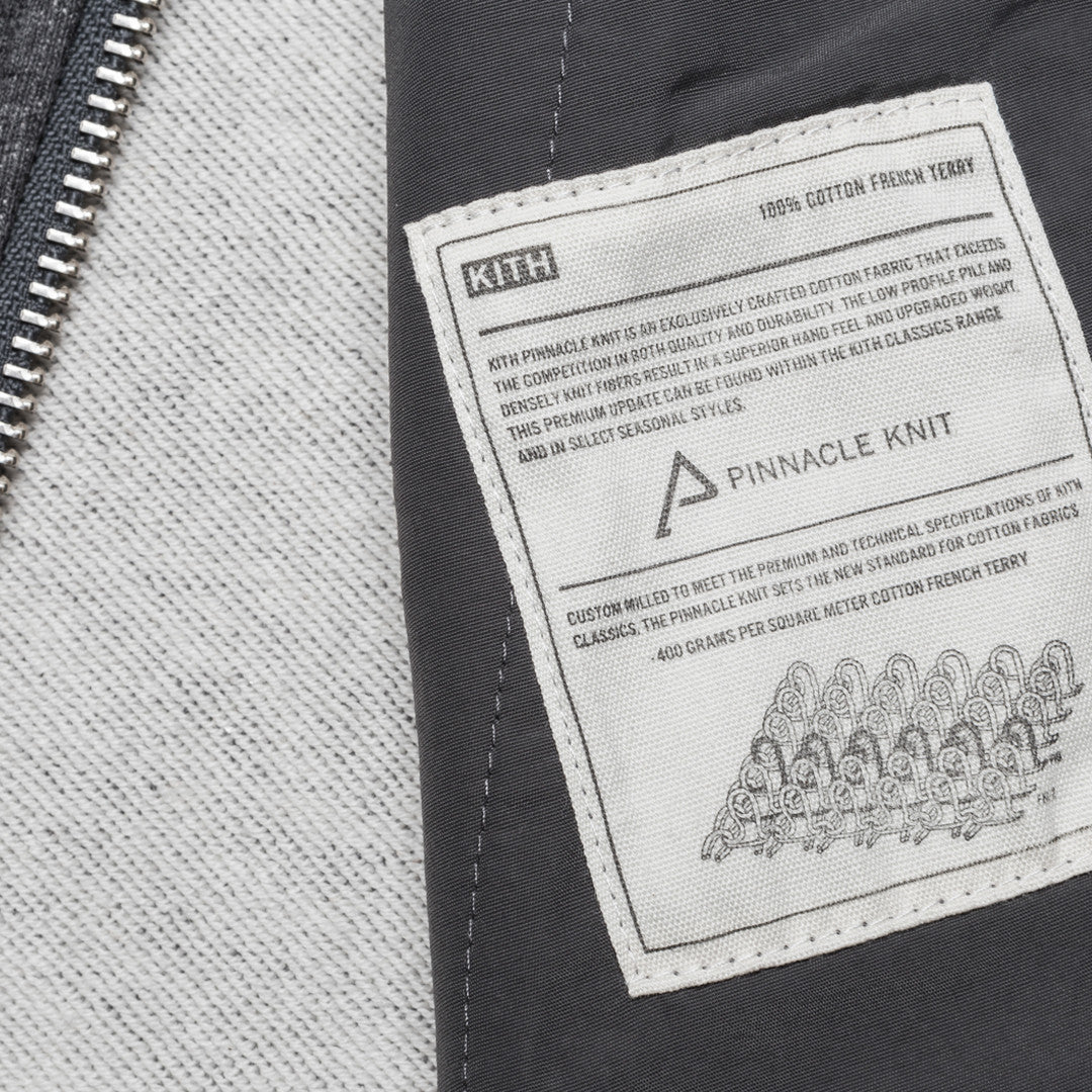 KITH Classics Herkimer Bomber - Charcoal