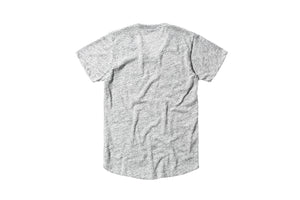 John Elliott Curve U-Neck Co-Mix - Grey