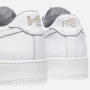 Ronnie Fieg x A Bathing Ape Bapesta - White