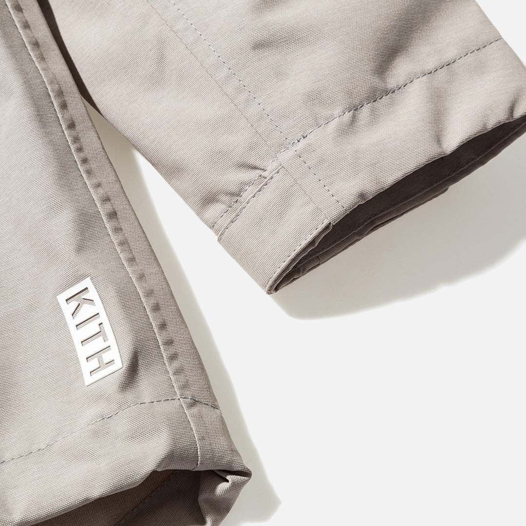 Kith Exeter Fishtail Jacket - Warm Grey