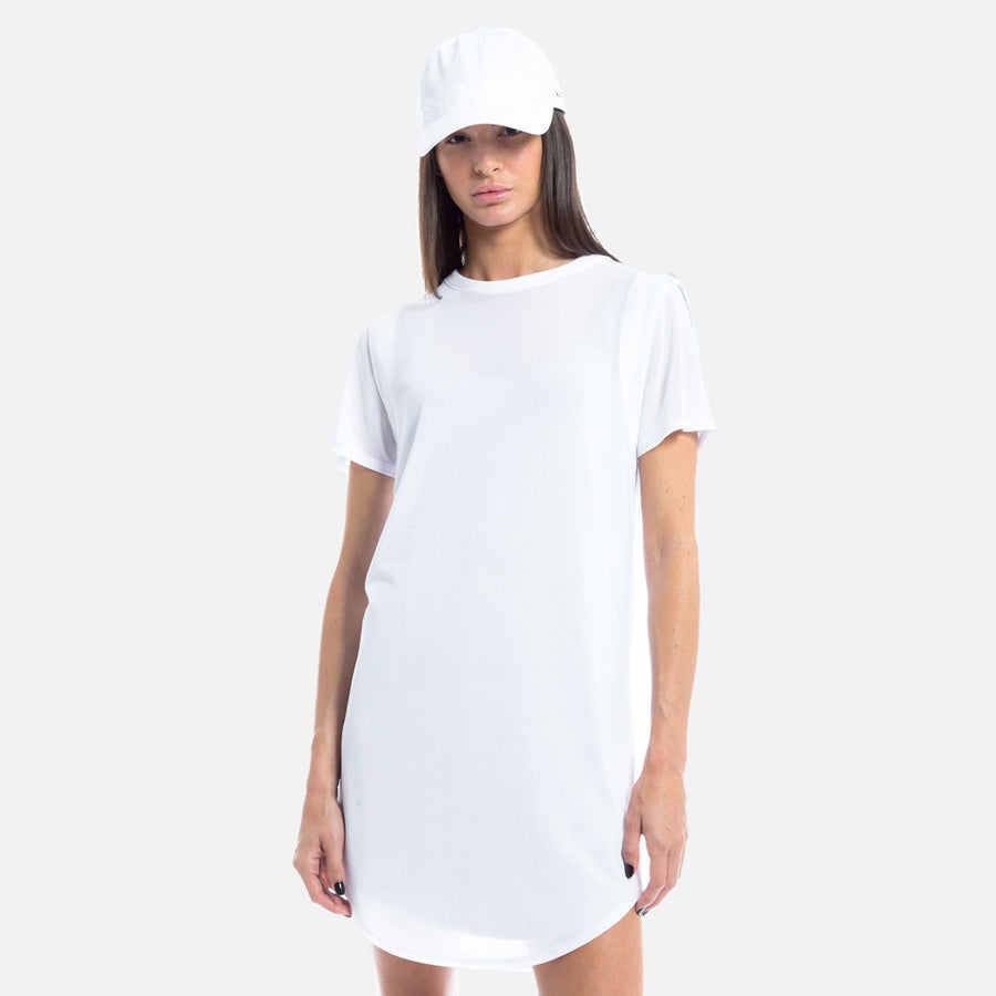 Kith Jett S/S Dress - Optic White