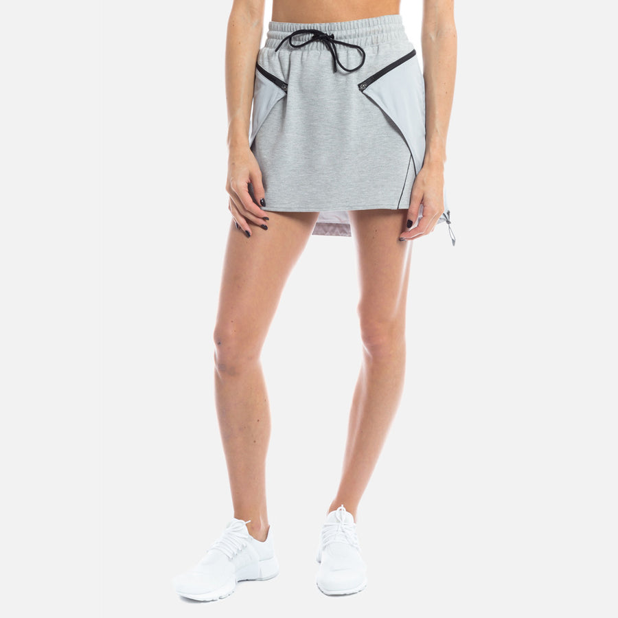Kith Maya Skirt - Heather Grey