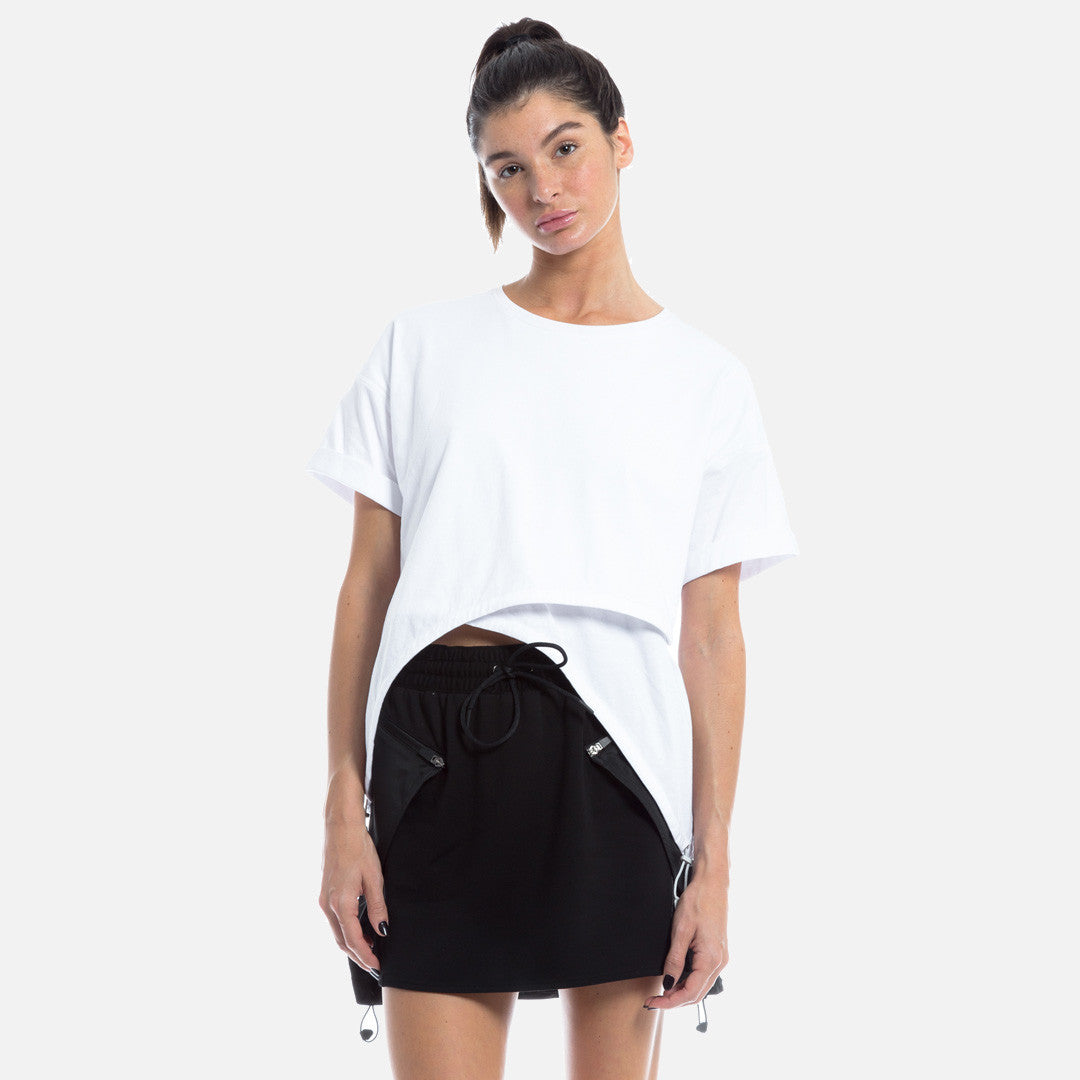Kith Tate Crop Top - Optic White