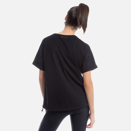 Kith Tate Crop Top - Meteorite Black