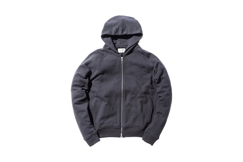 Fear of God Full Zip Hoody - Vintage Black