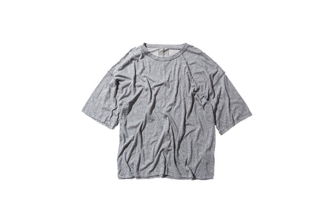 Fear of God Inside Out Tee - Heather Grey
