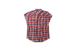 Fear of God Sleeveless Flannel Shirt - Red