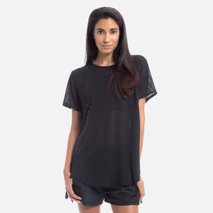 Kith Monique Mesh Tee - Black