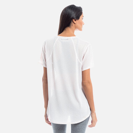 Kith Monique Mesh Tee - Pink