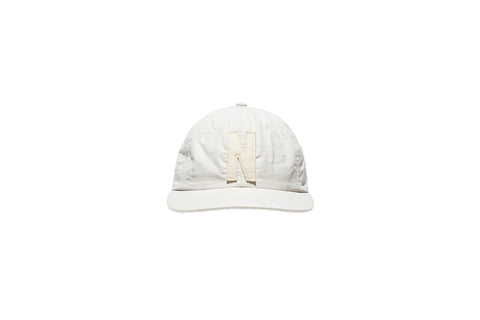 Norse Projects N Logo 6 Panel Cap - Ecru